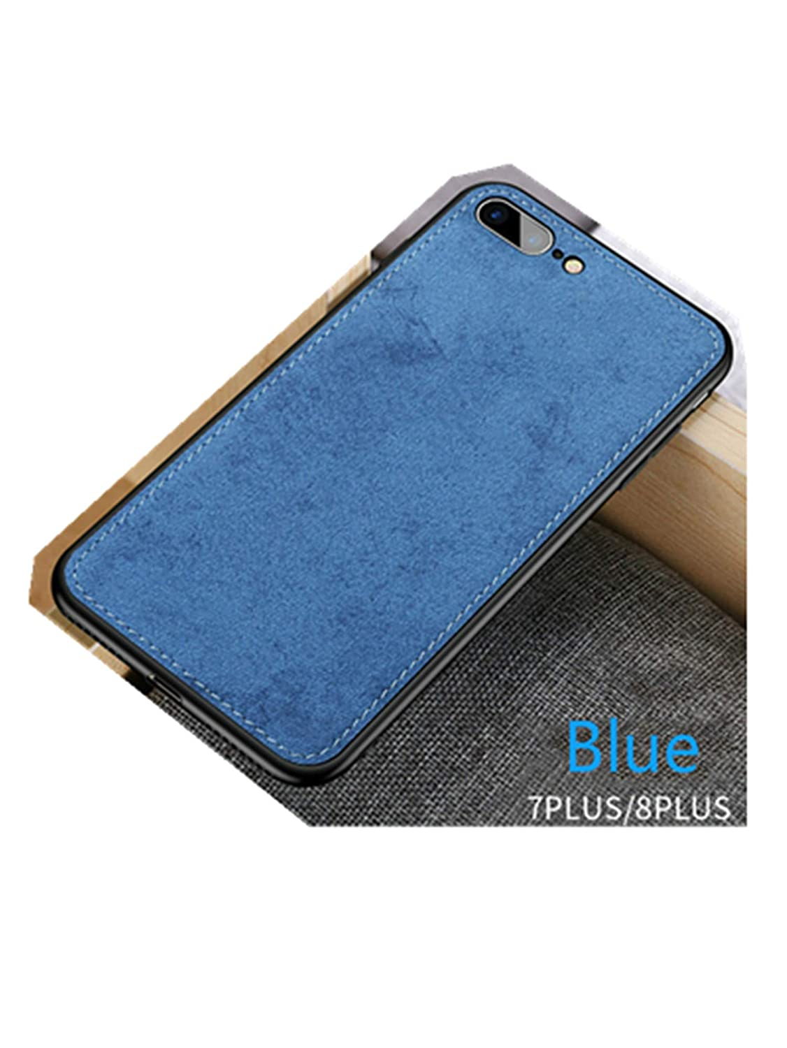 Amazon.com: Fabric Ultra-Thin Canvas Silicon Phone Case for ...