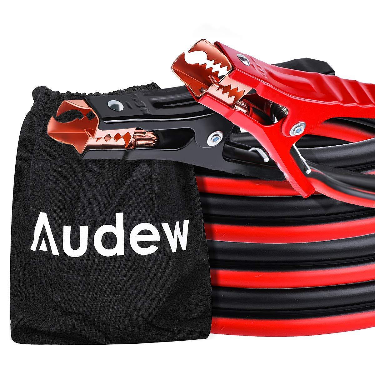 Audew Cable Câble de démarrage 4GA-20FT 6M Cordon d'alimentation Aluminium plaqué de cuivre pour Voiture, Camion, Moto, et Autres véhicules et Autres véhicules AUDEWPsiWkFhVT
