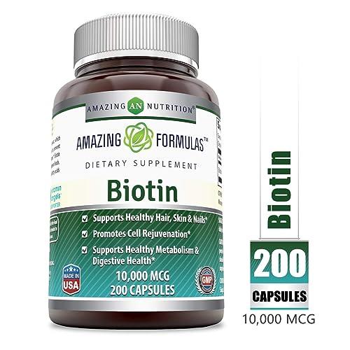 Amazing Formulas Biotin Supplement - 10
