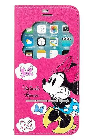 26e67bf175 iPhone6s iPhone6 ケース 手帳型 ディズニー 窓付き キャラクター カバー カード収納/ミニー