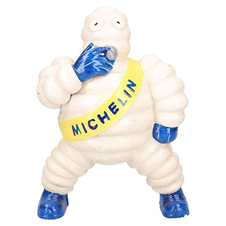 """Man Shed Collectables Michelin Man Figurine 4.5/"""" Tall Antique"""