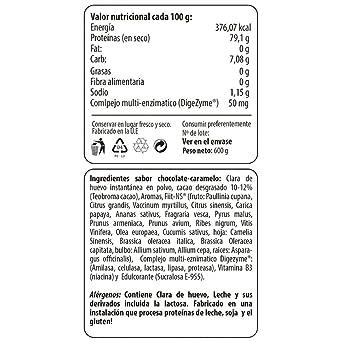 Max Protein Claras Deshidratadas Proteína Huevo - 600 gr: Amazon.es: Salud y cuidado personal