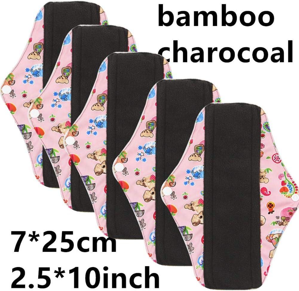panties pad in maxi woman wearing