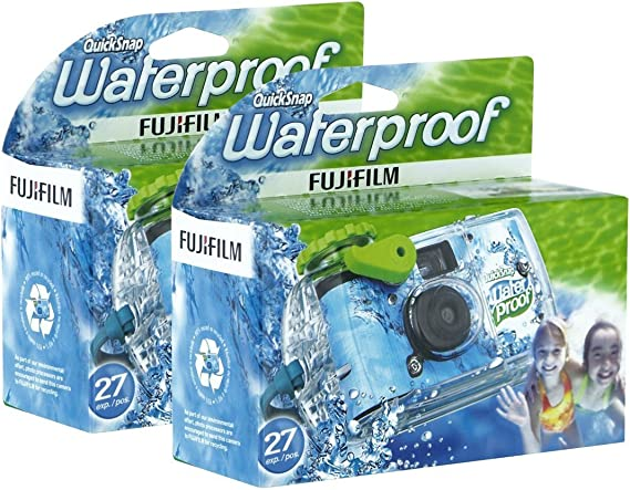 Fujifilm Disposable QuickSnap Waterproof Pool Underwater 35mm Camera