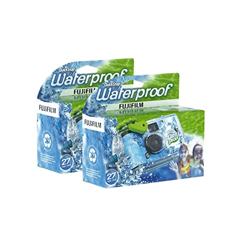 Amazon.com: Fujifilm QuickSnap impermeable desechables ...