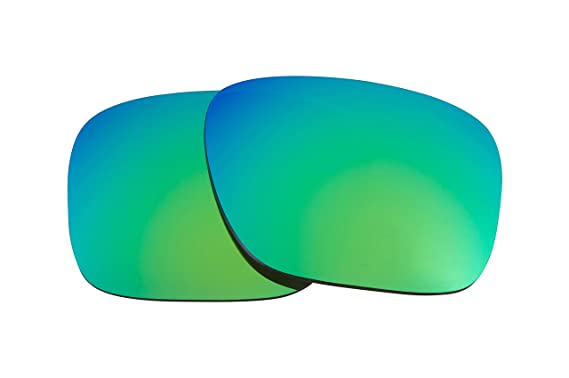 dd1d39fce5 Image Unavailable. Image not available for. Colour  Best SEEK Replacement  Lenses for Oakley HOLBROOK Jade Green Mirror Interchange