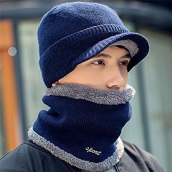 Pasamontañas,Gorros de invierno Skullies Beanies Hat Para Hombres ...