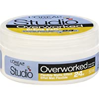 L'Oreal Paris Studio Line Overworked 24h Cream Paste, 50-Milliliter