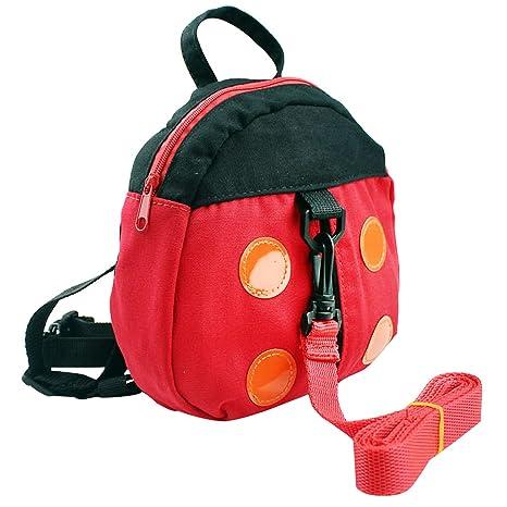 Diseño de mariquita/Bat Estilo Kid Niño Bebé Arnés De Seguridad Mochila bolsa mochila escolar