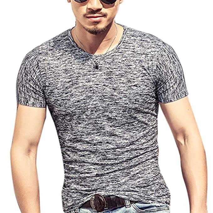 2018 Verano Moda Ropa Camiseta Hombres Tops Aq5j34RL