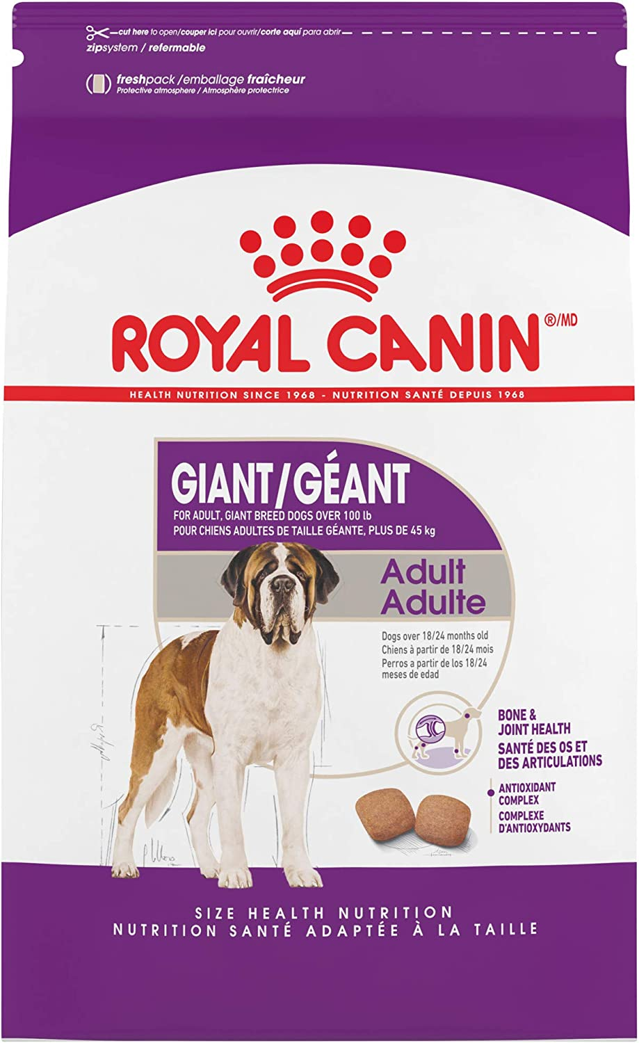 5. Royal Canin Size Health Nutrition Giant