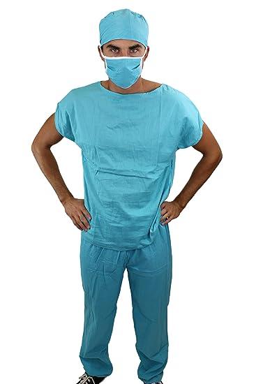 Dr. Med. Sexy Herrenkostüm Kostüm Scrub Doktor Arzt Chirurg OP ...