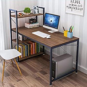 Amazon.com: Tower escritorio para computadora con 4 estantes ...