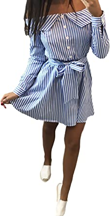 Ericcay Blusa Kleid Mujer Cortos Es Casual Fashion Flecos ...