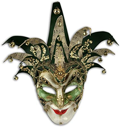 Mens masquerade mask Traditional Venetian mask Full face cosplay mask Halloween mask for menwomen.Hand painted theater or carnival mask