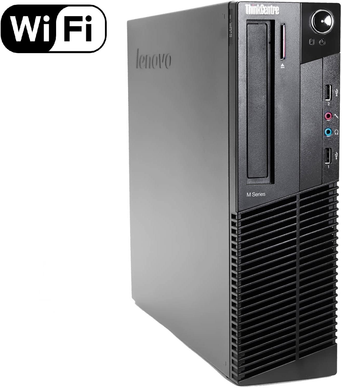 Lenovo ThinkCentre M92p High Performance Small Factor Desktop Computer, Intel Core i5 CPU up to 3.6GHz, 8GB DDR3 RAM, 500GB HDD, DVDRW, Windows 10 Professional (Renewed)