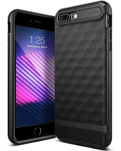 brand new 28020 0f9a2 Caseology Parallax for Apple iPhone 8 Plus Case (2017) / for iPhone 7 Plus  Case (2016) - Award Winning Design - Matte Black