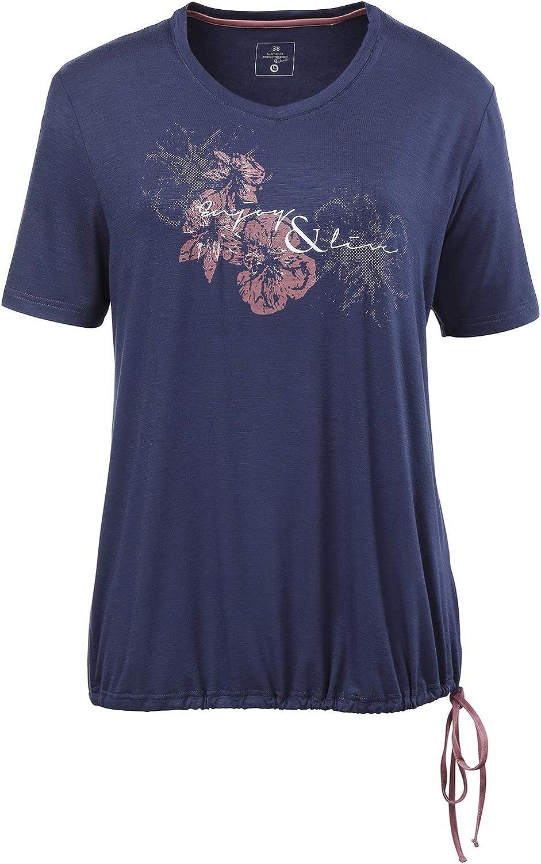 Linea Primero Jasmine - Camiseta para mujer Azul marino 48 ...