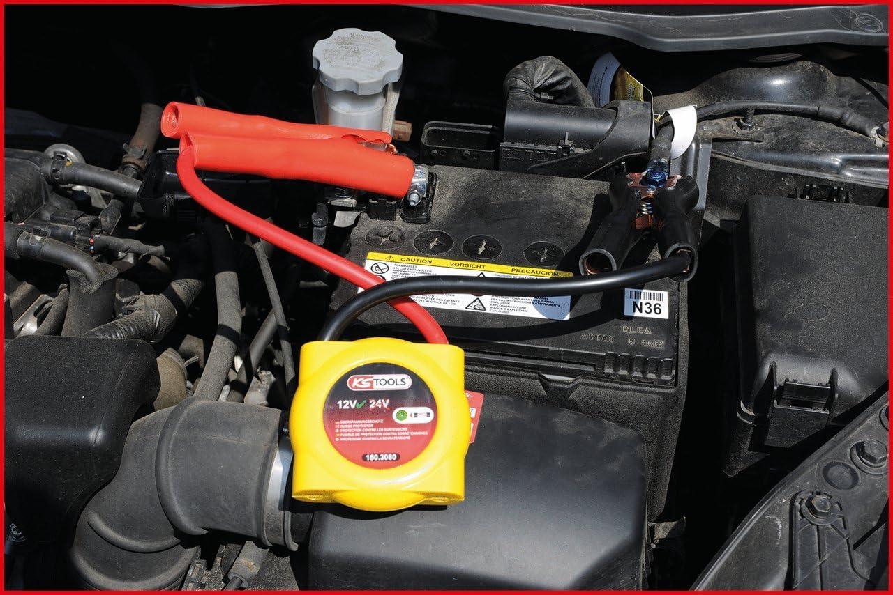 KS Tools 150.3045 Elektronischer /Überspannungsschutz 12//24V
