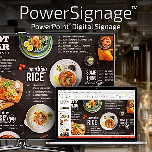Powersignage Powerpoint Digital Signage 15 Day Trial Subscription