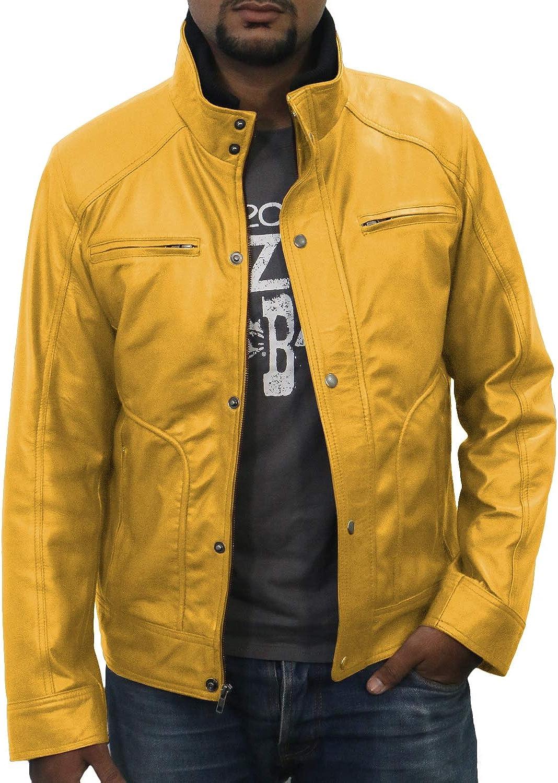 1501101 Black, Fencing Jacket Laverapelle Mens Genuine Lambskin Leather Jacket
