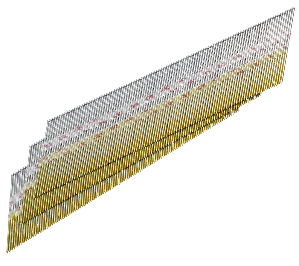 Senco DA25EAB 15 Gauge by 2 1 2 inch Length Electro Galvanized Brad Nail 3 000 per box