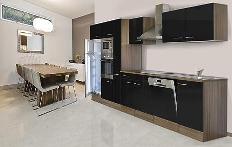 respekta cucina in blocco cucina in blocco cucina riga 370 cm Rovere ...