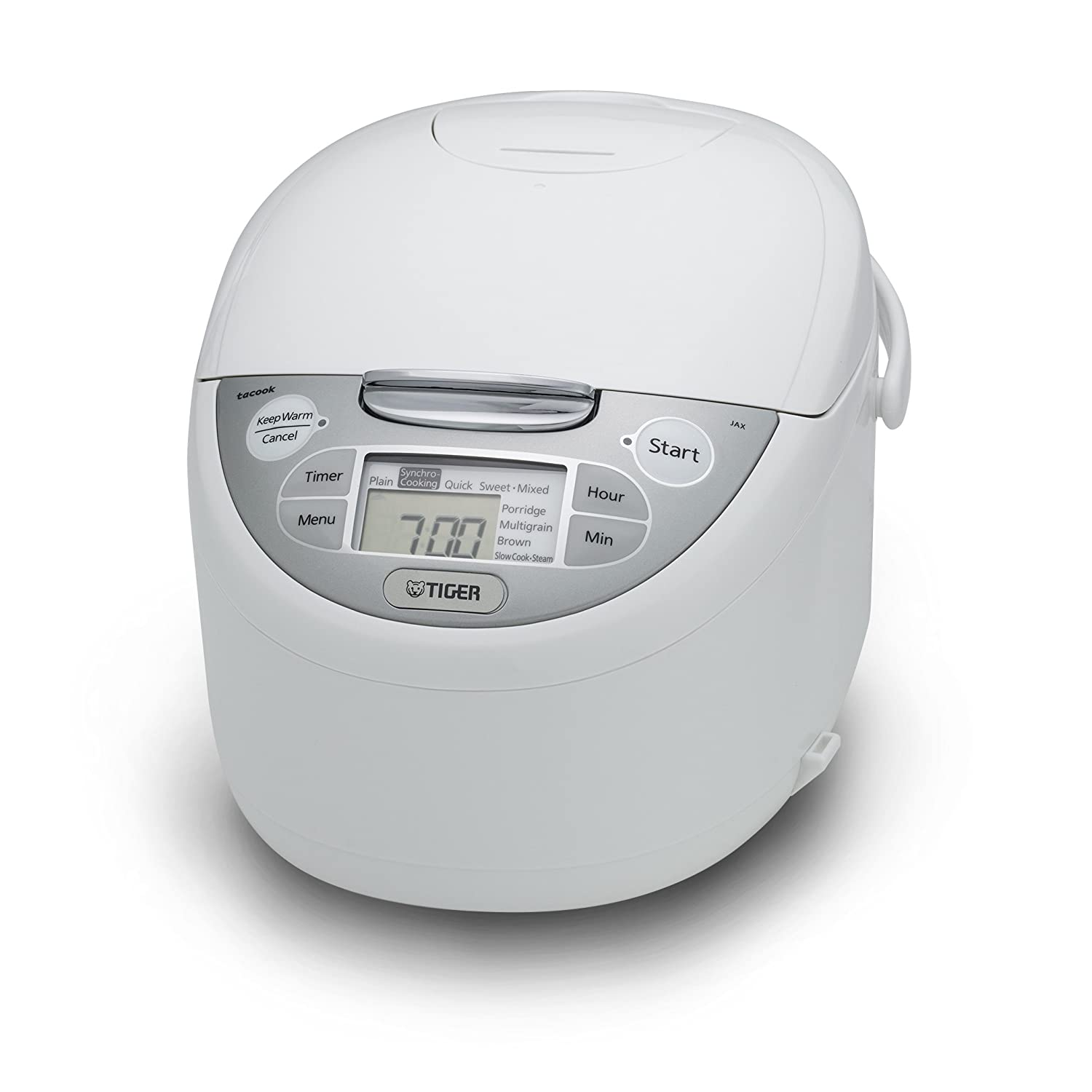 Tiger JAX-R10U-WY 5.5-Cup (Uncooked) Micom Rice Cooker & Warmer, Steamer, and Slow Cooker Tiger Corporation