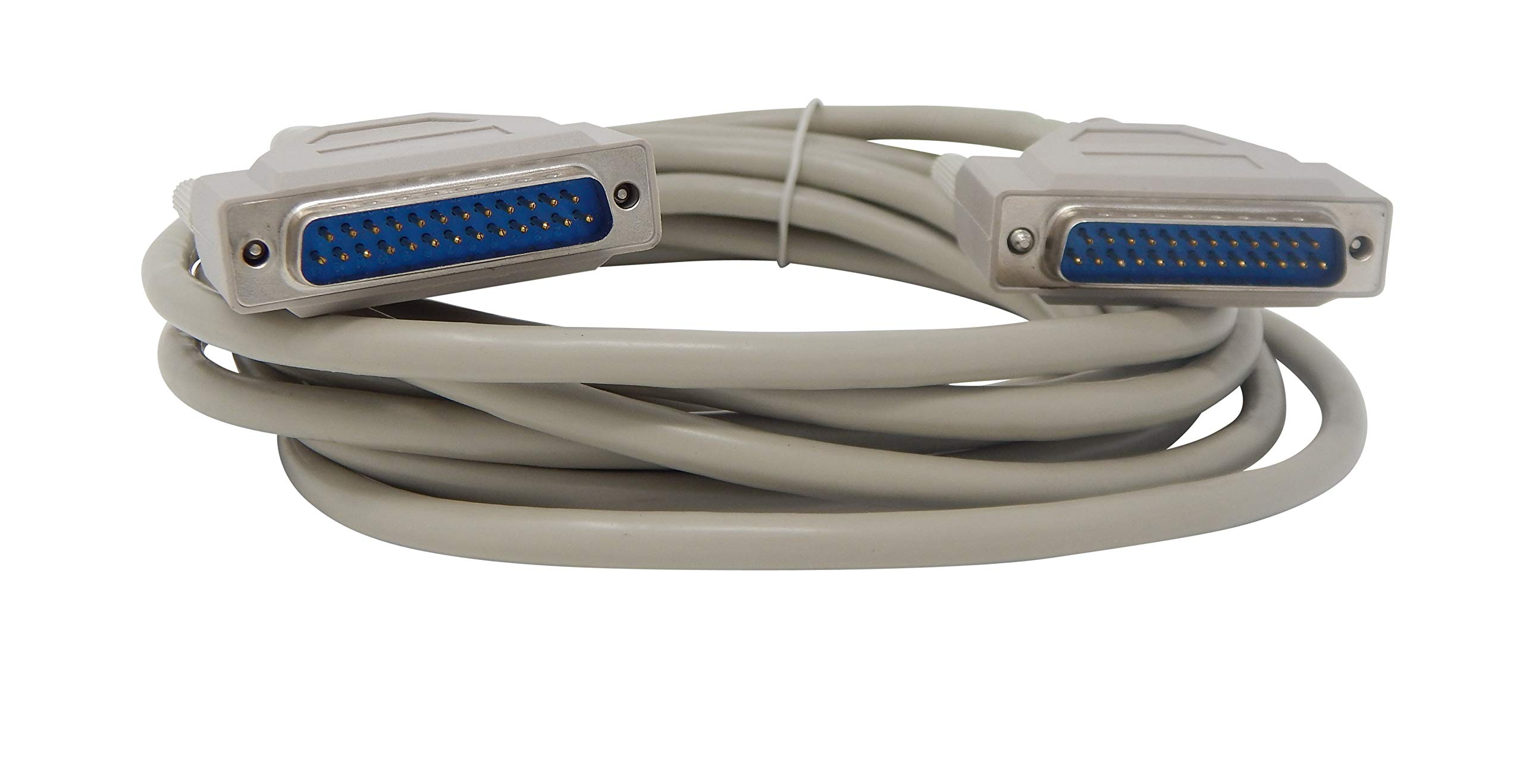 Your Cable Store 15 Foot DB25 25 Pin Serial Port Cable Male/Male RS232 by Your Cable Store