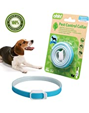 FOOMEXT Flea and Tick Collar for Cats and Dogs Natural Botanic Essential Oil Protection Collar Lasting Up to 60 days Waterproof and Adjustable