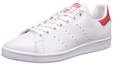 plus récent 0e1e2 f6bff Adidas Originals Stan Smith Baskets, Homme, Blanc, 47 EU