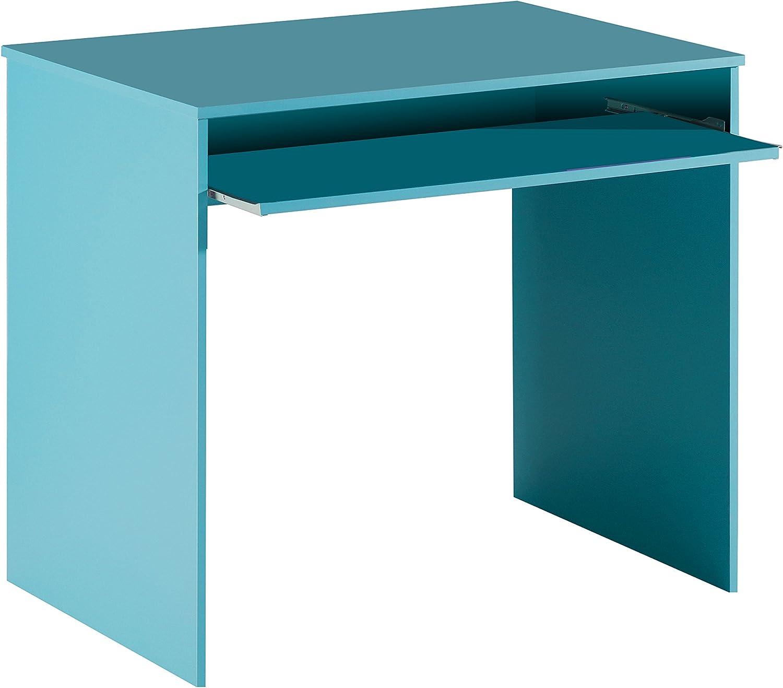 Habitdesign 002314A - Mesa de ordenador con bandeja extensible, 90 ...