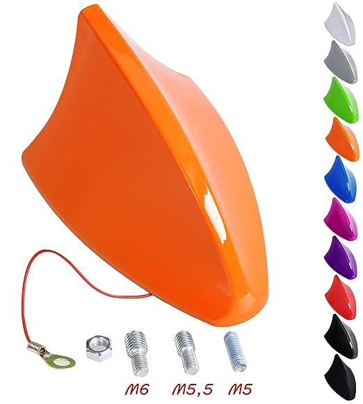 17 opinioni per Woltu AT7028or-b Antenna Pinna di Squalo Shark Plastica Rigido AM/FM Universale