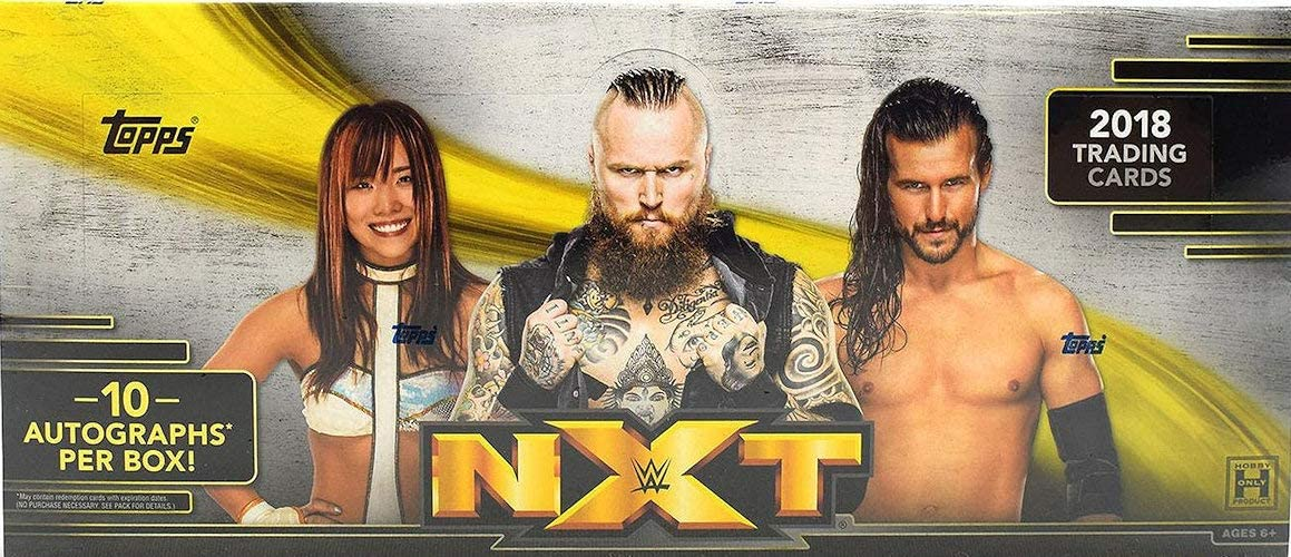 2018 TOPPS LEGENDS OF WWE WRESTLING HOBBY BOX FACTORY SEALED NEW