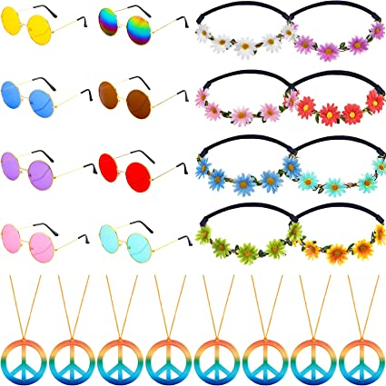 Amazon.com: Juego de 24 piezas de accesorios para disfraz ...