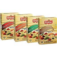 Five Star Custard Powder Mix Combo of Vanilla, Raspberry, Pista and Butterscotch - 100g Each (Pack of 4)