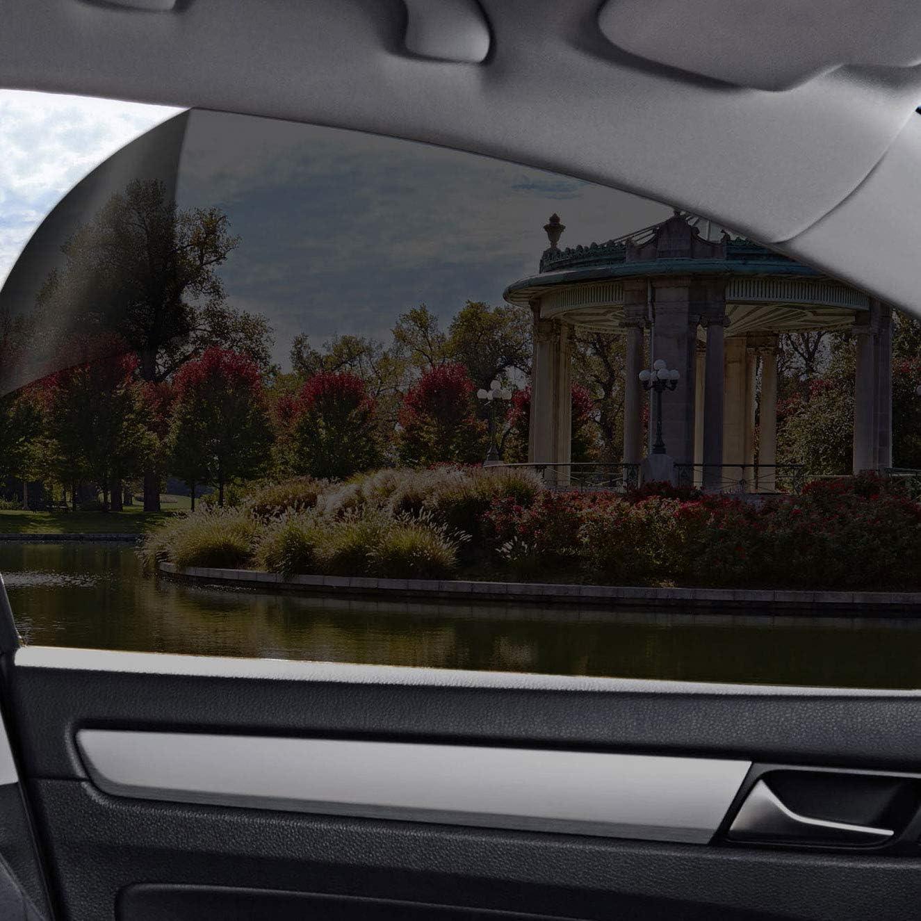 "20/% VLT 10/"" In x 25ft Feet Uncut Roll Window Tint Film Car Windshield Sun Visor"