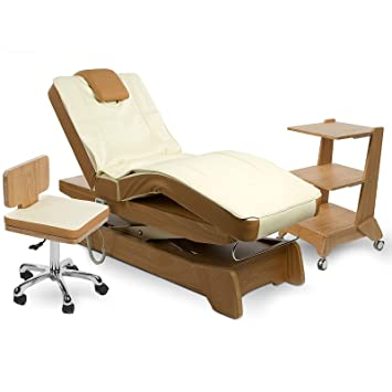 Cabinet Electric Massage Couch Beauty Facial Therapy Wellness Salon Physiotherapy Bed Tables Spa 901208 Amazoncouk Health Personal Care
