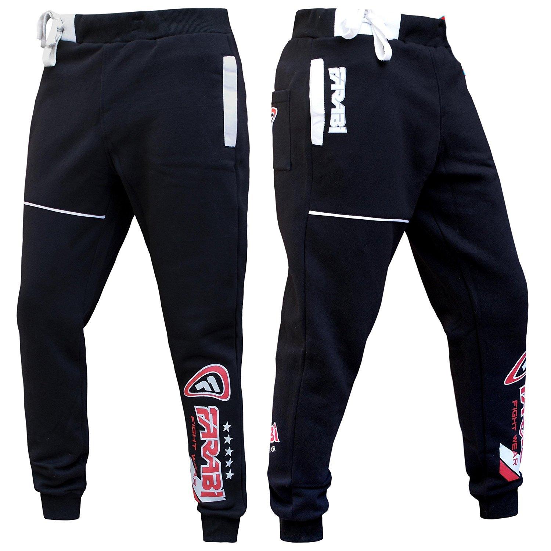 Farabi Fleece Bottom Trouser Jogging Sports Casual Pants Training Black (2XS) by Farabi (Image #3)