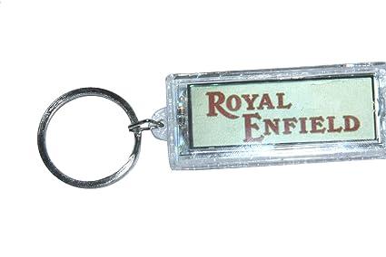 Enfield County plástico Royal Enfield Script Logo Solar ...