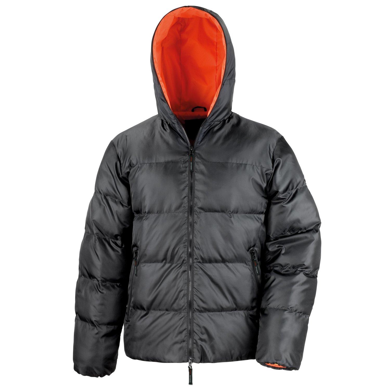 Result Urban Outdoor Dax down feel jacket Black/ Orange M