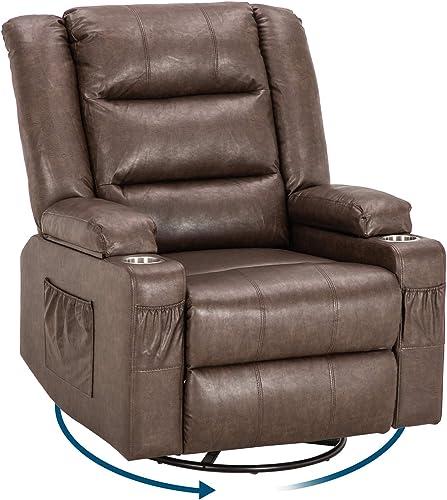VINGLI Swivel Recliner Chair