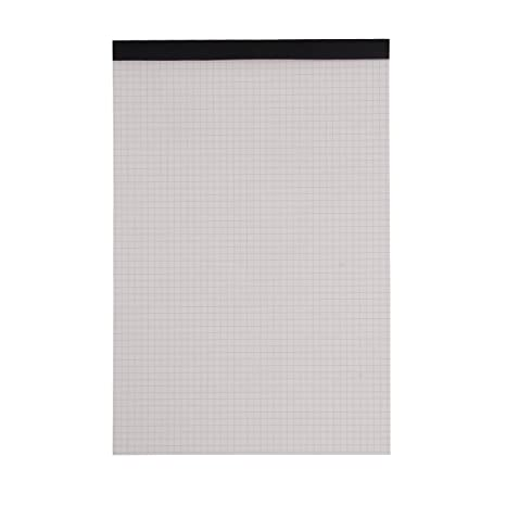 amazon com a4 gridded paper pad notebook chart paper journal grid