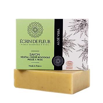 Ecrin De Fleur Aloe Vera Soap Certified Organic By Ecocert