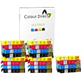 20 XL High Capacity Colour Direct Compatible Ink Cartridges Replacement For Epson Stylus B42WD BX305F BX305FW BX305FW, BX320FW BX525WD BX535WD BX625FWD BX630FW BX635FWD BX925FWD BX935FWD SX230 SX235W SX420W SX425W SX430W SX435W SX438W SX440W SX445W SX445WE SX525WD SX535WD SX620FW WF-7015 WF-3010DW WF-3520DWF WF-3530DTWF WF-3540DTWF WF-7515 WF-7525 Printers - 5 Black 5 Cyan 5 Magenta 5 Yellow