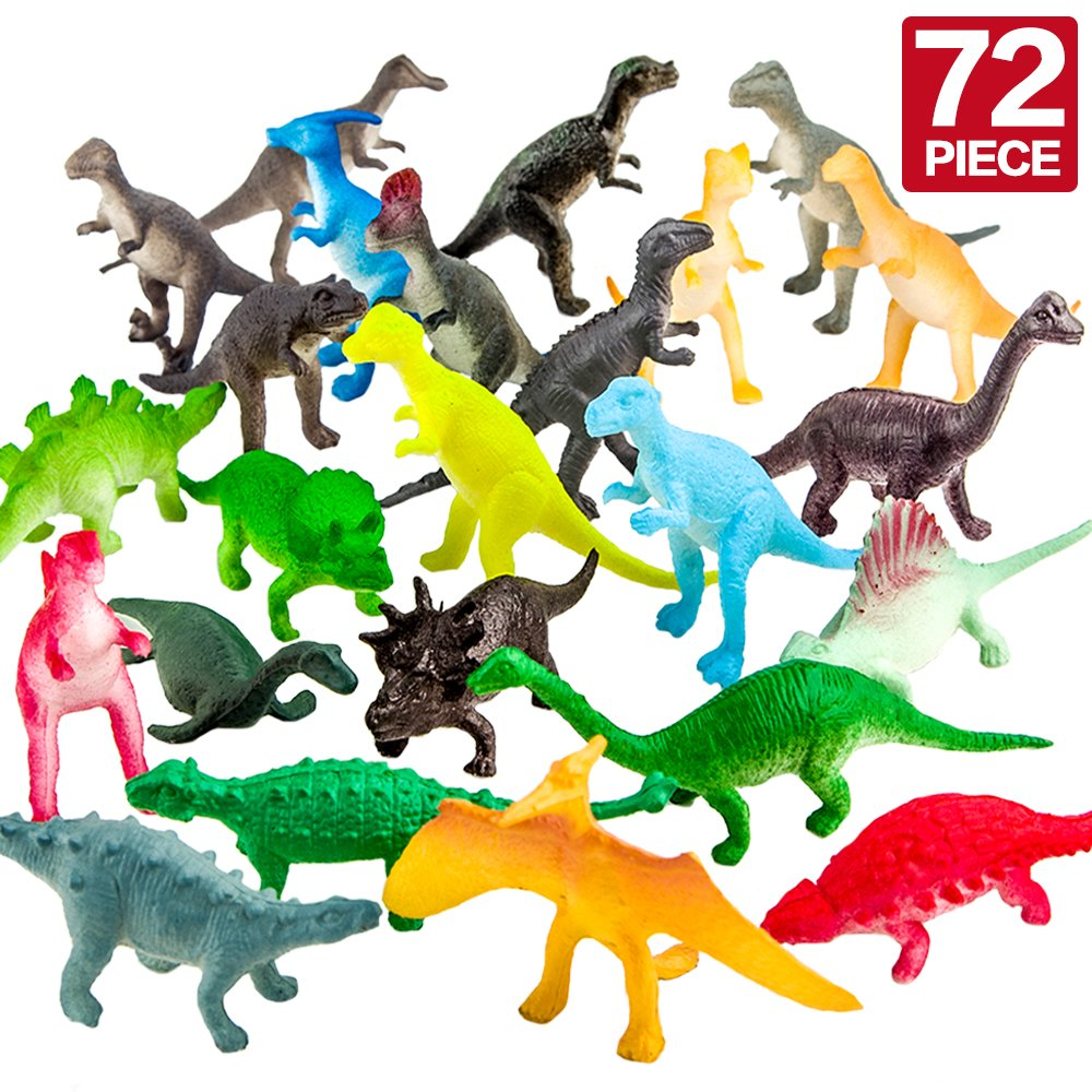 72-Piece Dinosaur Toy Set ONL.