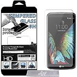 Film Protecteur d'écran en VERRE TREMPE pour LG K10 Ultra Transparent Ultra Résistant INRAYABLE INVISIBLE