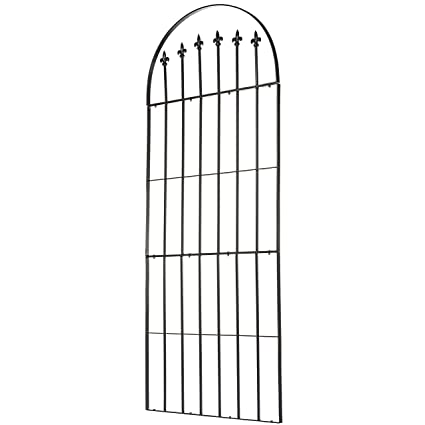 Amazon Com H Potter Trellis Garden Wrought Iron Weather Resistant