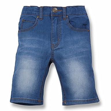 5b6baf2211eb4 (コマンス) Commencer キッズ ボーイズ ガールズ デニム ハーフ パンツ 穿きやすさを追求した