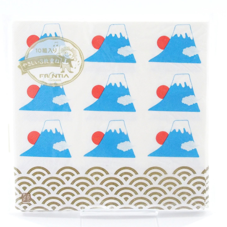 Japonés tradicional Patrón de la Serie Toalla de Papel Servilleta Pack de 10 - Japan Import - el Monte Fuji PNK-027: Amazon.es: Hogar